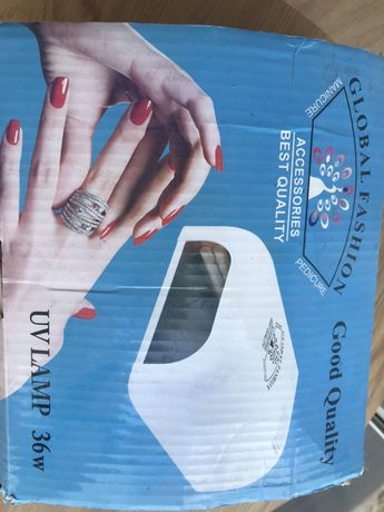 Global fashion  уф лампа для сушки ногтей