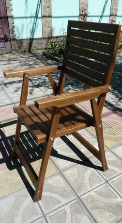 Шезлонг стул раскладной деревянный изготавливаем
