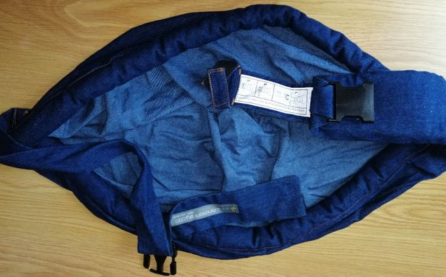 Baby SLING Minimonkey - 4 em 1 - Ganga Azul