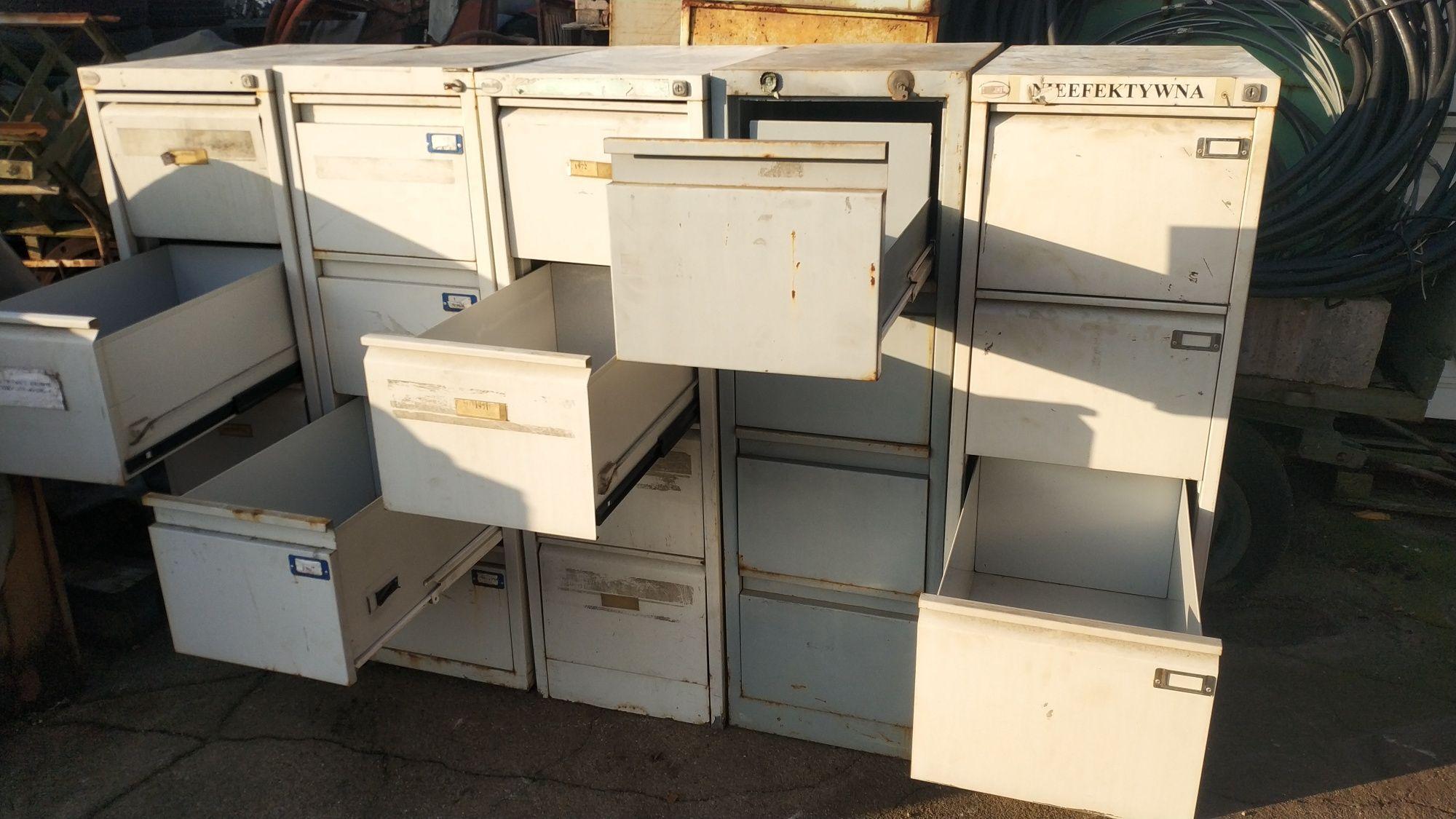 Szafa kartotekowa metalowa szafka warsztatowa