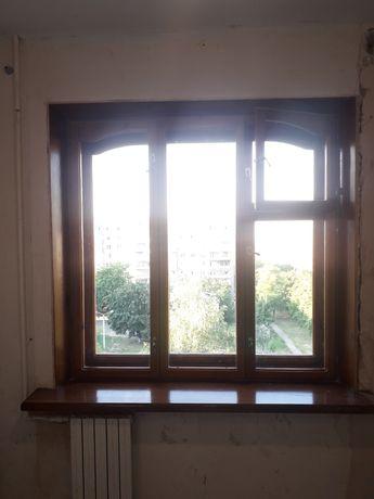 Деревянное окно б/у