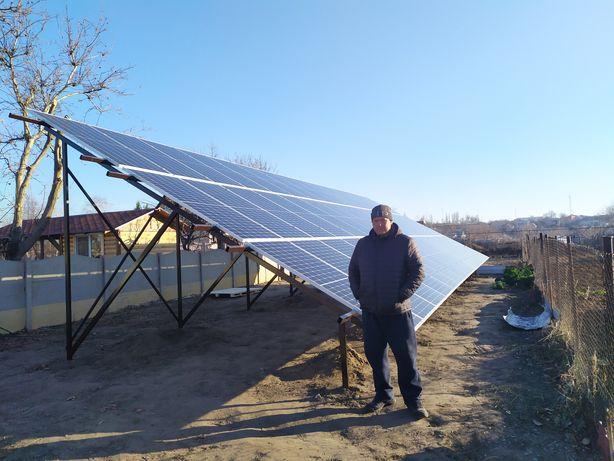 Солнечная панель моно и поликристал 440 Вт Rizen