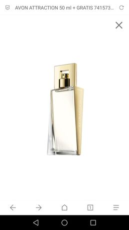 Attraction avon damskie 50 ml nowe