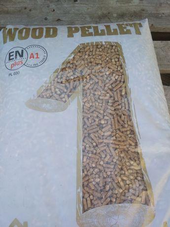 Pellet drzewny 6mm 100% trocina certyfikowany transport