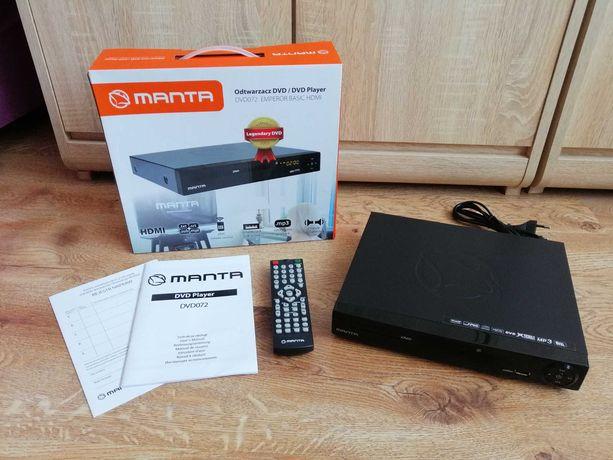 Jak nowy odtwarzacz MANTA DVD072 EMPEROR HDMI