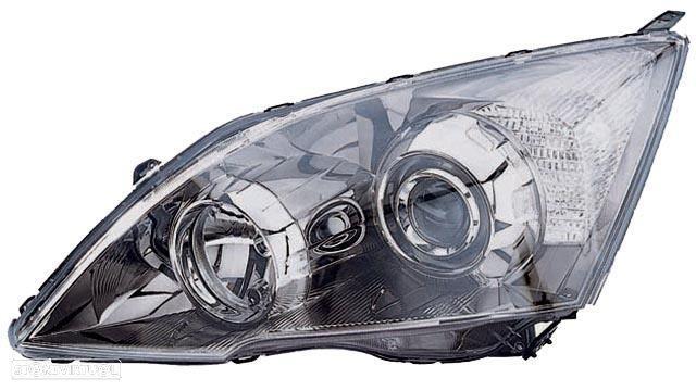 Farol Direito Honda Cr-V 06-11 Mascaara Escura Xenon +Hb3