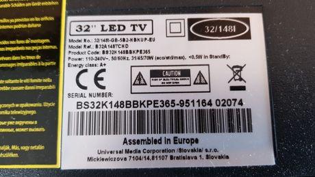 32 lcd Blaupunkt BS32K148 części podświetlenie