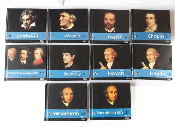 Colecçao de 10 CDs Royal Filarmonica