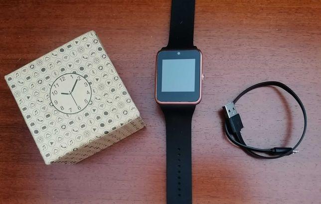 Relógio Telefone Smartwatch com Câmara