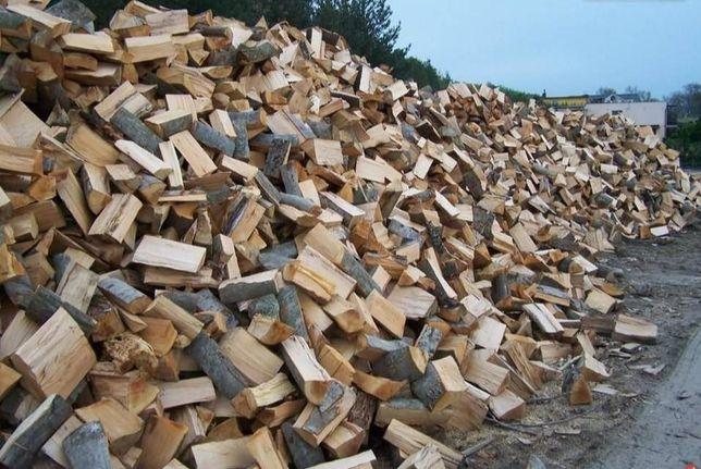 Drewno opałowe suche z dowozem