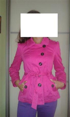 płaszcz fuksja rozmiar 40 Marks&Spencer