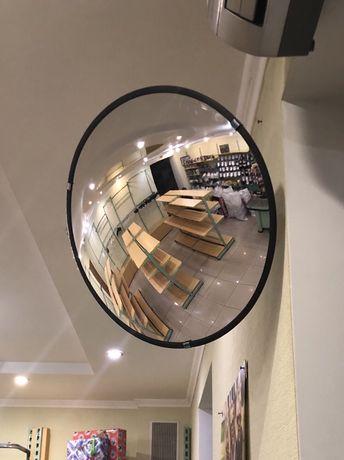 Зеркало сферическое дорожное,Д 45 см