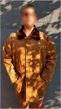 Продам итальянскую замшевую куртку