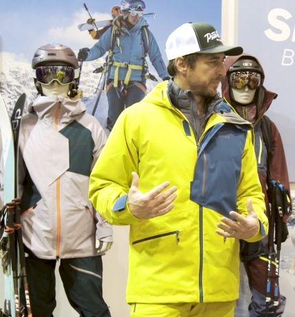 лыжная куртка Marmot мембрана, р.М mammut haglofs spyder