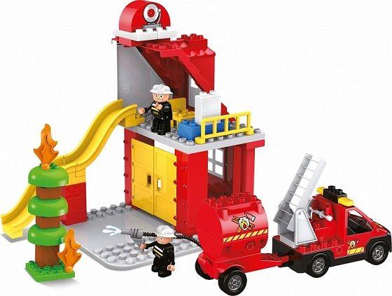 Klocki Blocki Mubi Fire Brigade 48el. (MU6612B)