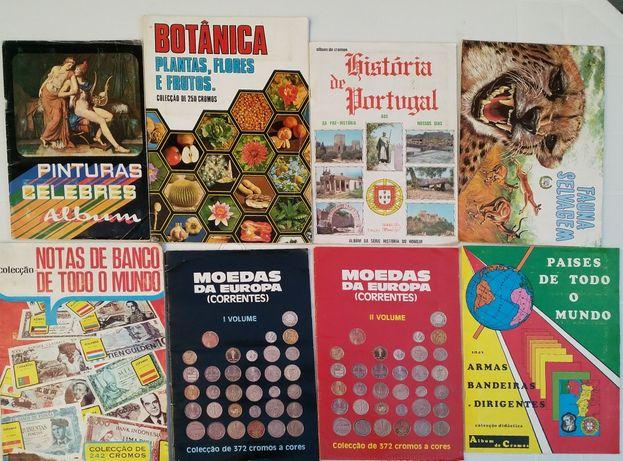 Lote de cadernetas (8)