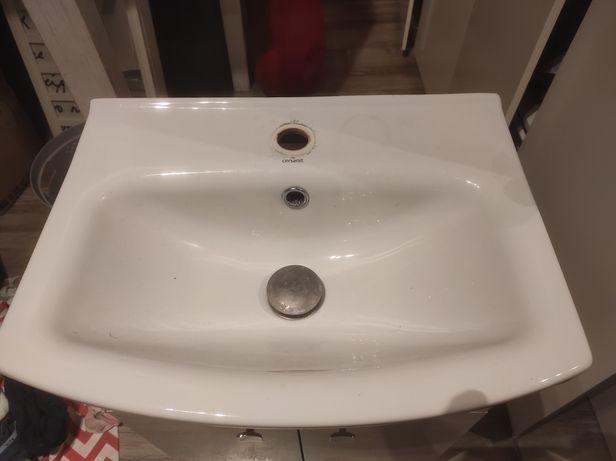 Umywalka + szafka pod umywalka 50