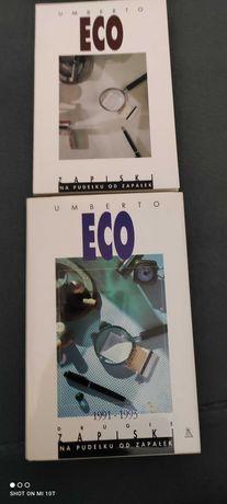 Eco Umberto - Zapiski. Na pudełku do zapałek, Drugie zapiski