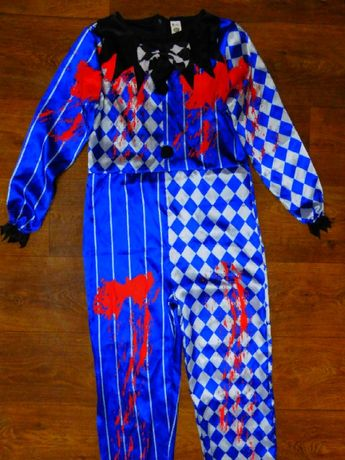 пеннивайз клоун костюм джокер 10-12 лет 152 рост карнавальный мальчику