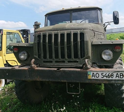 Лісовоз Урал 4320
