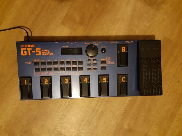 Boss GT-5 GT5 multiefekt analogowa sekcja drive
