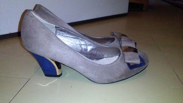 Nowe buty na obcasie