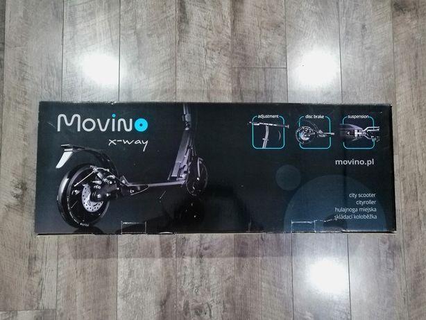 Nowa! Hulajnoga Movino X-way w kolorze czarnym