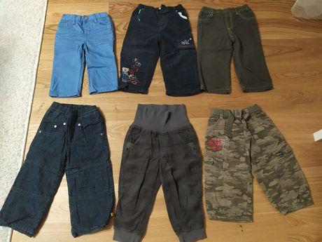 Spodnie dla chłopca 86-92 zestaw