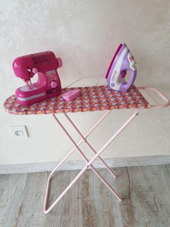 Детская гладильная доска. Игрушка для кукол