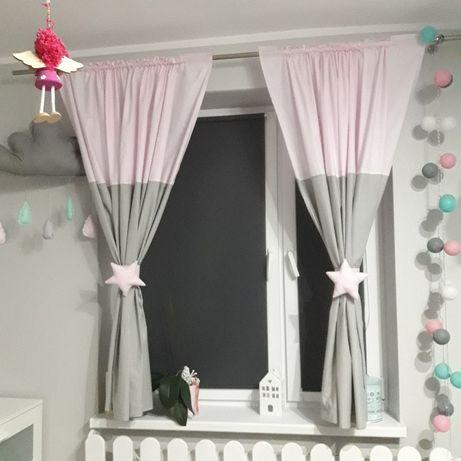 Zaslonki , firanki po pokoju dzieciecego