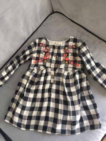 Sukienka tunika ZARA 3 - 4 lata