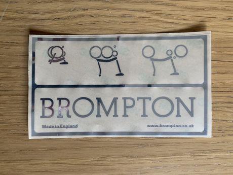 Brompton - Autocolante Classico