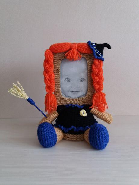 Девочка Фоторамка Мягкая игрушка Оригинальный подарок Декор