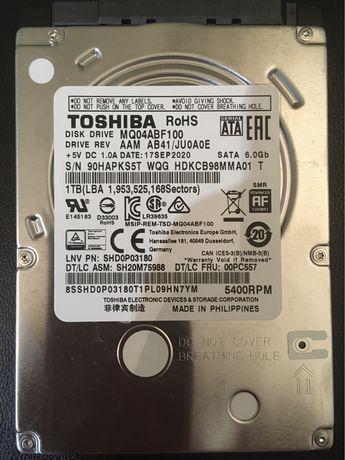 HDD Toshiba 1 Tb для ноутбука