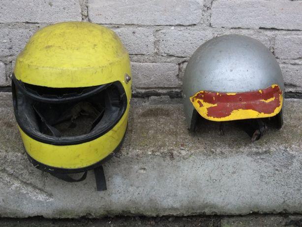 Kaski motocyklowe okres PRL