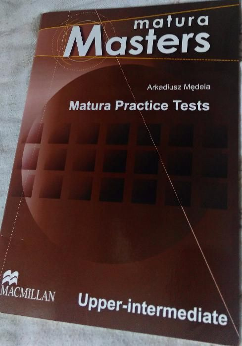 Matura Masters - Matura Practise Testy ang. upper-intermediate + CD Gdynia - image 1