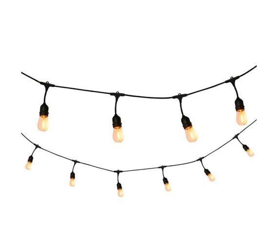 Zestaw Girlanda 10m + 10 szt żarówka LED Edison 4W 2800K producent