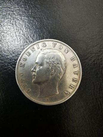 3 марки 1909 года, Король Баварии Отто, Германская империя