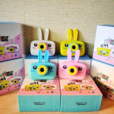 Детский фотоаппарат Smart Kids Camera Зайчик с автофокусом 3 серии