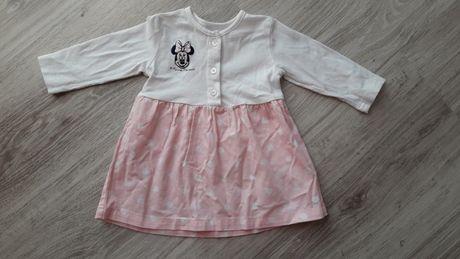 Sukienka r.62 Myszka Minnie 0-3 miesięcy