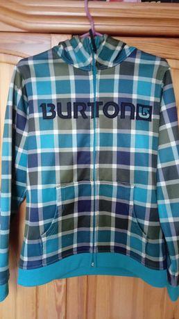 Bluza zielona z kapturem używana