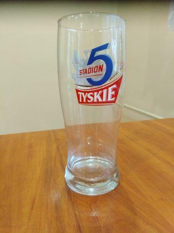 Tyskie kufel szklanka do piwa pokal kolekcjonerski 0,5 l 5 stadion