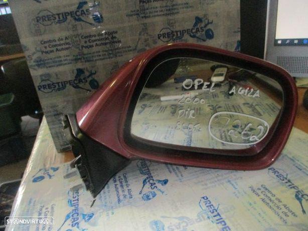 Espelho ESP2262 OPEL / AGILA / 2000 / DRT / ELETRICO / 3 PINOS /