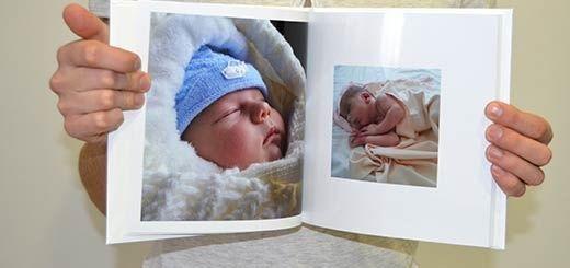 Для Новорожденных Альбом Книга с Фото !
