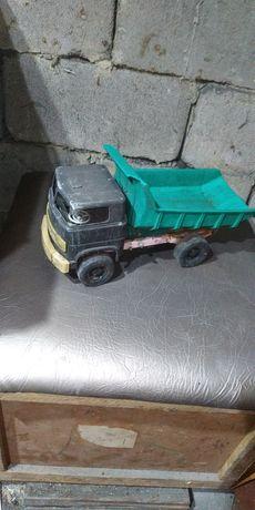 Машинка старая, времён СССР, грузовик самосвал