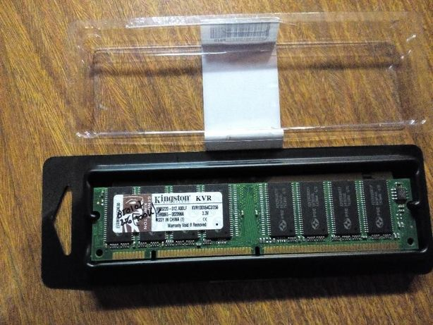 Memórias da Kingston SDRAM KVR100x64C3/256MB
