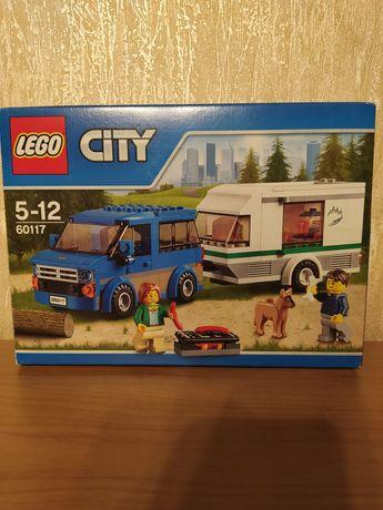 LEGO City Фургон и дом на колёсах