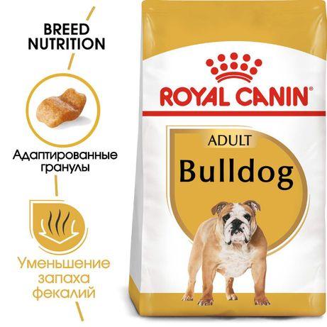 Royal Canin Bulldog Adult Роял Канин сухой корм для собак 12кг
