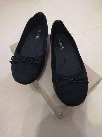 Czarne baleriny 36