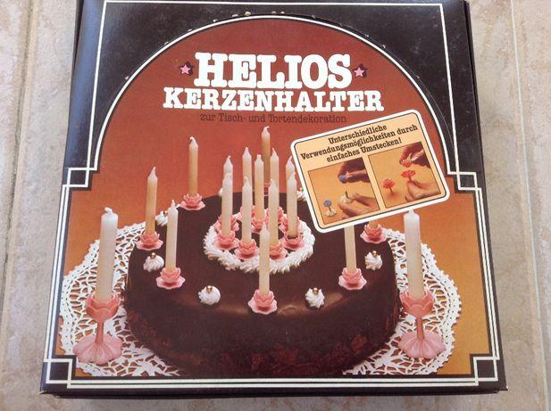 25 porta velas para bolo